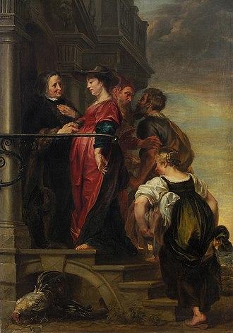 Theodoor van Thulden - Theodoor van Thulden, The Visitation. Kunsthistorisches Museum, Vienna
