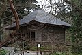 This building used to shelter the Konjikido (golden hall) from wind and rain. The konjikido is on display in a modern building (and is more gilded than the Golden Pavilion), but you can't take photos. (7340276826).jpg