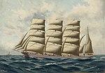 Thomas G. Purvis - The barque 'Colonial Empire'.jpg