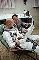 Thomas P. Stafford (foreground), Gemini-6 prime crew pilot.jpg