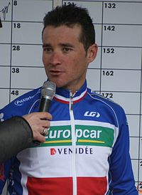 Voeckler podczas Tour de France 2011