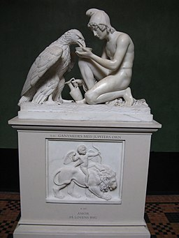 256px-Thorvaldsens_Ganymedes People in Fiction: Zeus and Ganymede