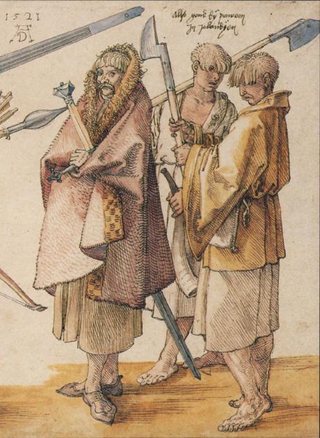 Three irish kerns Albert Durer 1521