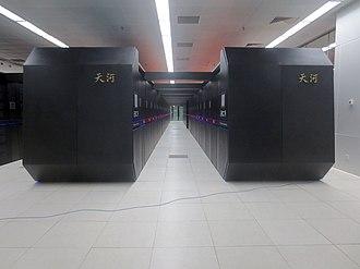 Xeon Phi - The Tianhe-2 supercomputer uses Xeon Phi processors