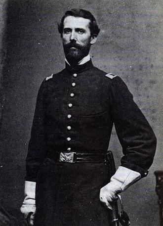 John C. Tidball - Captain John C. Tidball, 1861. USMA Archives