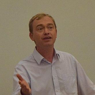 Liberal Democrats leadership election, 2015 - Image: Tim Farron 20150613