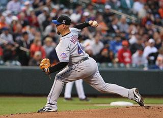 Tim Redding American professional baseball pitcher