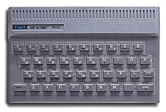 Timex Sinclair - Image: Timex Sinclair 1500 White BG