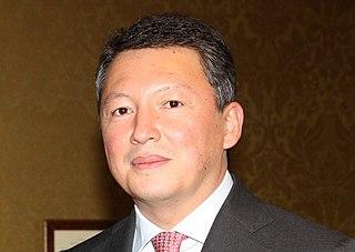 Timur Kulibayev Kazakhstani businessman