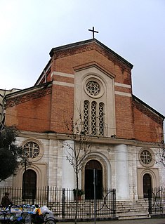 Sacred Heart Church (Tirana) cultural Monument in Albania