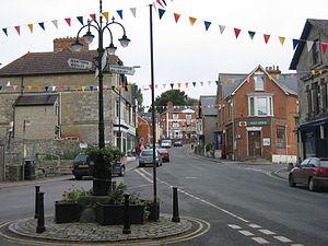 Tisbury, Wiltshire - Image: Tisbury