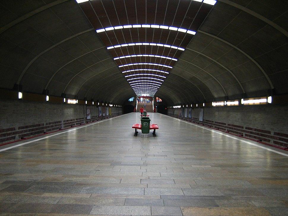Titan metro station 2