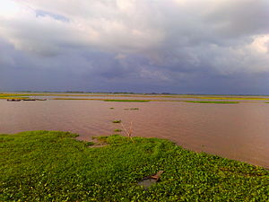 Titas River - The Titas River, seen from Brahmanbaria.