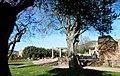 Tivoli- Hadrianus császár - 'Villa Adriana' romkertje17.JPG