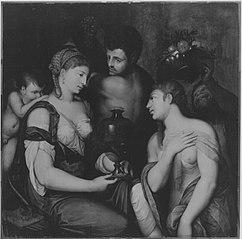 Venus, Bacchus und Ceres (Kopie nach)