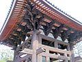 Todai-ji Syourou Bell tower National Treasure 国宝東大寺鐘楼08.JPG