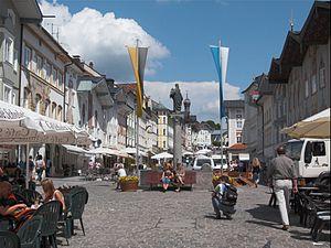 Fußgängerzone von Bad Tölz