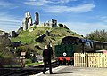 Token exchange at Corfe Castle - geograph.org.uk - 1252387.jpg