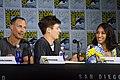 Tom Cavanagh, Grant Gustin & Candice Patton (35736805044).jpg