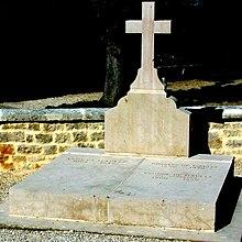 Charles de Gaulle's gravestone