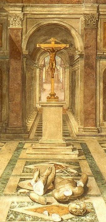 Tommaso.Laureti Triumph.of.Christianity