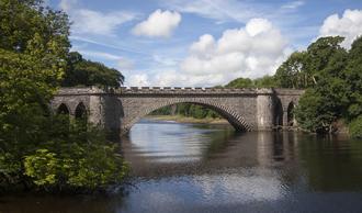 Tongland - Bridge over the River Dee at Tongland