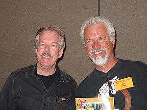 Tony Baxter - Tony Baxter and Jack Janzen in 2009 at a National Fantasy Fan Club (NFFC) event