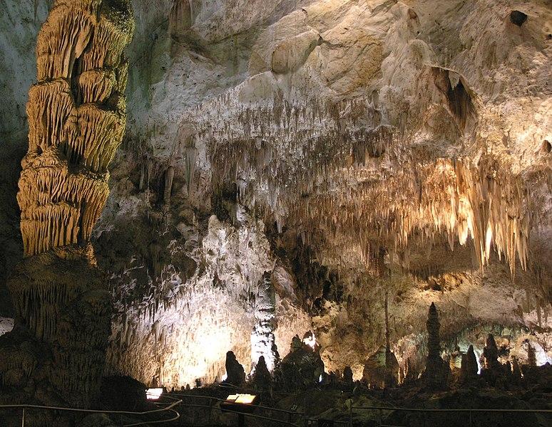see: Carlsbad Caverns