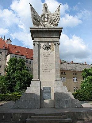 Elbe Day - Image: Torgau Denkmal