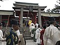 Torii and Kojumon Gate of Sumiyoshi Grand Shrine 2.jpg