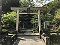 Torii of Sorei Shrine in Tsuwano, Kanoashi, Shimane.jpg