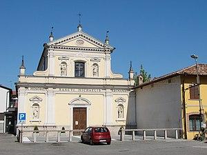Certosa di Pavia (comune) - Image: Torre Del Mangano San Michele