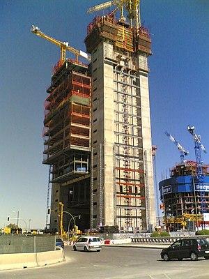 Torre Cepsa - Image: Torre Caja Madrid (CTBA) 03