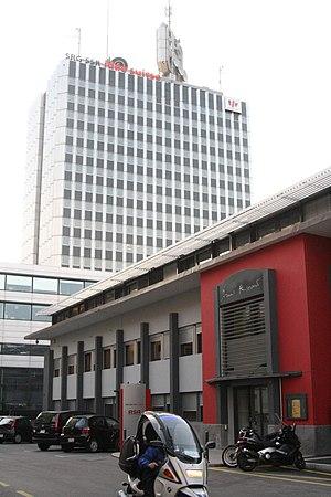 Immeuble de la télévision suisse romande Quai ...