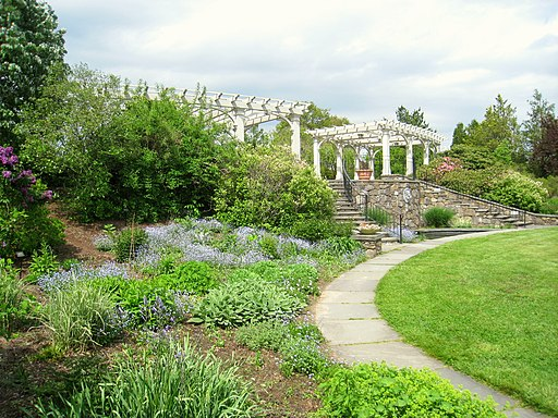 image of Tower Hill Botanic Garden - Landscaping Slopes