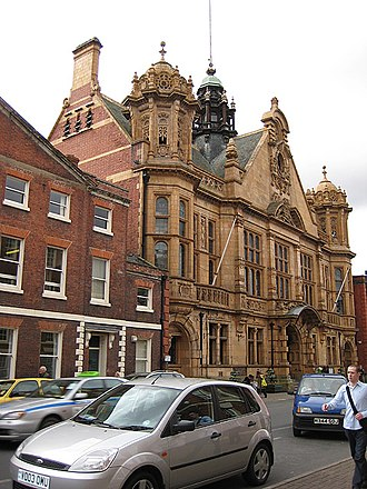 Hereford - Hereford Town Hall (opened 1904)