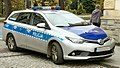 Toyota Auris Hybrid police car in Poland.jpg