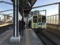 Train of Heisei Chikuho Railway at Yukuhashi Station.jpg