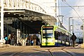 Tram at East Croydon - geograph.org.uk - 1718847.jpg