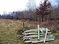 Tree Guards, Homsley Inclosure, New Forest, Hampshire. - geograph.org.uk - 622619.jpg