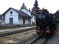 Treno a vapore presso la stazione di Camigliatello.jpg