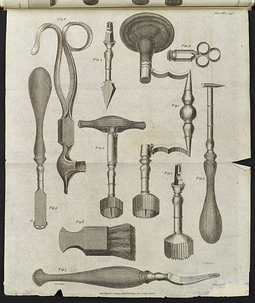 File:Trepanning instruments, c. 1806 Wellcome L0038430.jpg