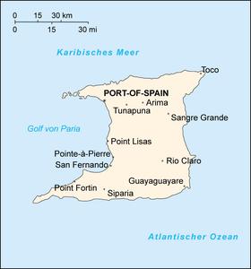 Die Insel Trinidad