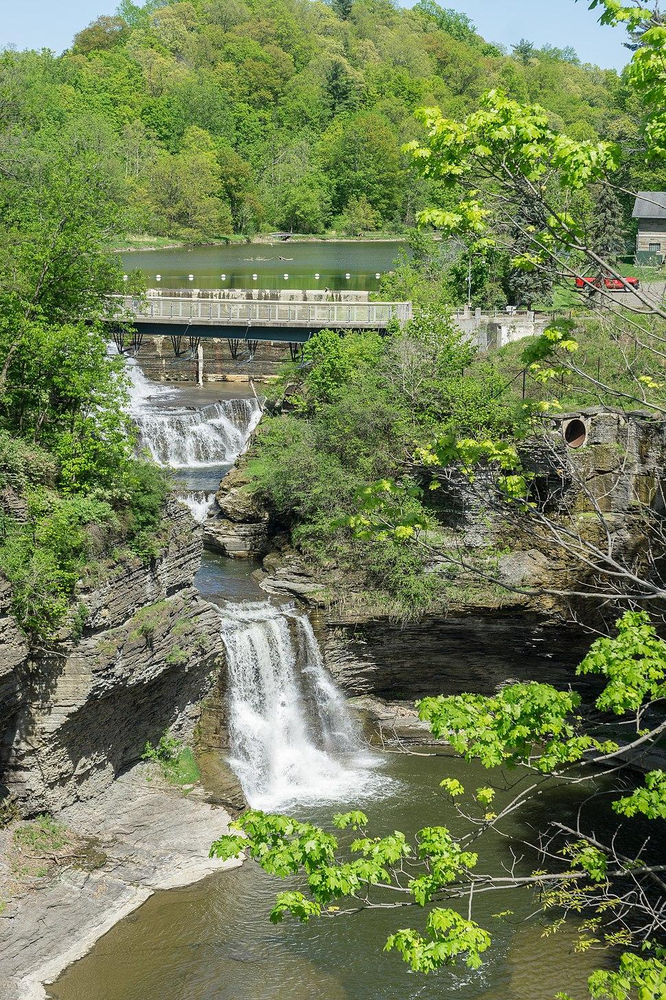 Triphammer Falls, Ithaca NY