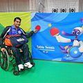 Trivendra Singh in Asian Para Games 2014.jpg