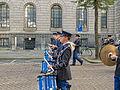 Trompetterkorps der Koninklijke Marechaussee - Doelwater - Rotterdam (21707144485).jpg