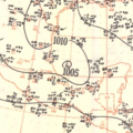 Tropical Storm George surface analysis September 21, 1951.png