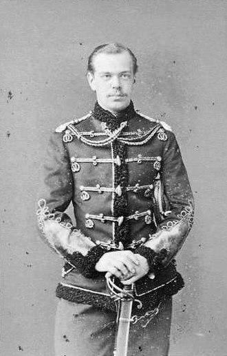 Alexander III of Russia - Alexander III as Tsesarevich, by Sergei Lvovich Levitsky, 1865