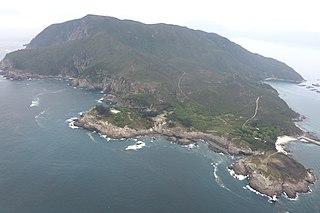 Tung Lung Chau Island in New Territories, Hong Kong