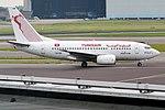 Tunisair, TS-IOM, Boeing 737-6H3 (28476675435).jpg